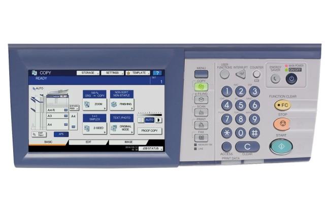 e-STUDIO557-control-panel